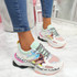 Reyna Pink Chunky Sneakers
