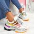 Reyna White Chunky Sneakers