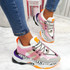 Logy Pink Chunky Sneakers