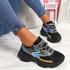 Ogllo Black Chunky Sole Sneakers