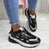 Potty Black Party Sneakers