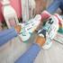 Kollya Blue Rainbow Sole Chunky Trainers