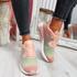 Paddo Fuchsia Rainbow Trainers
