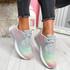 Paddo Grey Rainbow Trainers