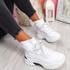 Erika White Sock Trainers
