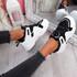 Vedya Black White Chunky Trainers