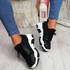 Limma Black Chunky Trainers