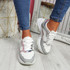 Eveny Silver Chunky Sneakers