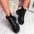 Munna Black Chunky Boots