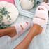 Lobi Pink Fluffy Sandals