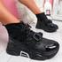 Kogga Black Sock Chunky Sneakers