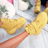 Becca Yellow Platform Ankle Boots