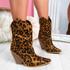 Teea Leopard High Top Slough Boots