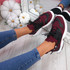 Kimme Wine Red Trainers