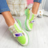 Huma Green Chunky Running Trainers