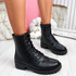 Jummy Black Ankle Boots