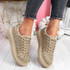 Erry Beige Studded Trainers