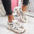 Luka Beige Chunky Sneakers