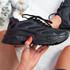 Juzy Black Sport Chunky Trainers