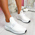 Zonna White Sport Trainers