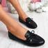 Pinga Black Flat Ballerinas