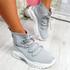 Jodda Grey Sock Chunky Sneakers