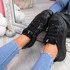 Norre Black Chunky Sneakers