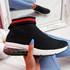 Klinne Black Sock Sneakers