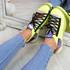 Jozzy Green Knit Sneakers