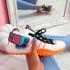 Jozzy White Knit Sneakers