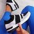 Jige Black Mesh Sneakers