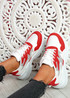 Nocy Red Chunky Trainers