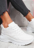 Nocy White Chunky Trainers