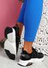 Kyme Black Sport Sneakers