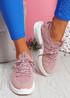 Kyme Pink Sport Sneakers
