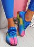 Rufo Navy Rainbow Sneakers