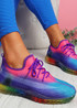 Rufo Purple Rainbow Sneakers