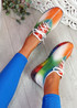 Rufo White Rainbow Sneakers