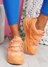 Dijy Orange Chunky Sneakers