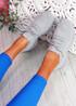 Elen Grey Chunky Knit Sneakers