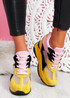 Leny Yellow Wedge Trainers