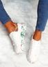 Syde White Khaki Multicolor Trainers
