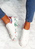 Syde White Red Multicolor Trainers