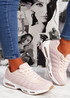 Judy Pink White Sport Sneakers