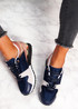 Onne Blue Lace Up Trainers