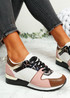 Onne White Serpent Lace Up Trainers