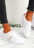 Pobe Champagne Lace Up Trainers
