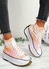 Nuve Orange Flatform Trainers
