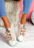 Hesa Pink Sport Plimsolls