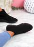 Bodde Black Sock Sneakers
